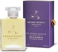 Fragrances, Perfumes, Cosmetics Bath & Shower Oil - Aromatherapy Associates De-Stress Muscle Bath & Shower Oil