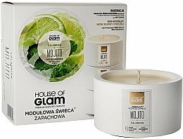 Fragrances, Perfumes, Cosmetics Scented Candle - House of Glam Calabrian Mojito Candle