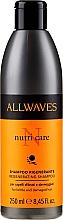 Fragrances, Perfumes, Cosmetics Damaged Hair Shampoo - Allwaves Nutri Care Regenerating Shampoo