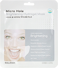 Fragrances, Perfumes, Cosmetics Brightening Face Mask - Beauugreen Microhole Clear Brightening Hydrogel Mask