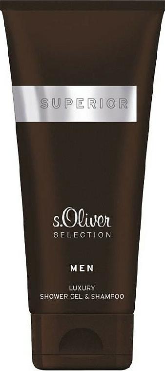 S.Oliver Superior Men - Shower Gel — photo N1