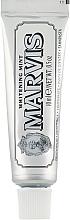 "Fragrances, Perfumes, Cosmetics Whitening Toothpaste ""Mint"" - Marvis Whitening Mint Toothpaste (mini size)"