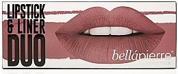 Fragrances, Perfumes, Cosmetics Set - Bellapierre Lipstick & Liner Duo (lip/liner/1.5 g + lipstick/3.5g)
