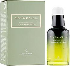 Fragrances, Perfumes, Cosmetics Moisturizing Soothing Serum with Aloe Extract - The Skin House Aloe Fresh Serum