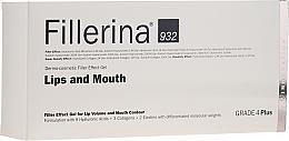 Fragrances, Perfumes, Cosmetics Lip Volume & Nouth Contour Gel, grade 4 - Fillerina Lips And Mouth Grade 4 Plus