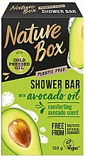 Fragrances, Perfumes, Cosmetics Natural Solid Soap - Nature Box Avocado Oil Shower Bar
