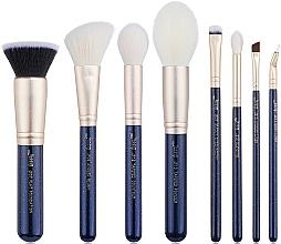 Fragrances, Perfumes, Cosmetics Makeup Brush Set, T485, 8 pcs - Jessup