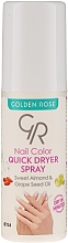 Fragrances, Perfumes, Cosmetics Nail Dryer Spray - Golden Rose Nail Quick Dryer Spray