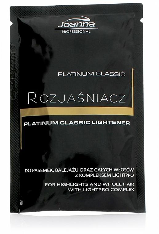 Hair Bleach - Joanna Professional Platinum Classic Lightener (sachet)