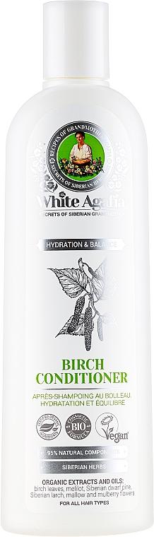 "Birch Hair Conditioner ""Moisturizing & Balance"" - Reczepty Babushki Agafi White Agafia Birch Conditioner"