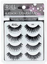 Fragrances, Perfumes, Cosmetics False Lashes Kit - Ardell Double Up 4 Pack 205 Lashes