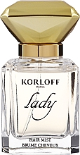 Fragrances, Perfumes, Cosmetics Korloff Paris Lady - Hair Mist