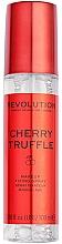 "Fragrances, Perfumes, Cosmetics Makeup Fixing Spray ""Cherry Truffle"" - Makeup Revolution Precious Stone Cherry Truffle Makeup Fixing Spray"