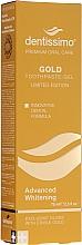 Fragrances, Perfumes, Cosmetics Whitening Toothpaste-Gel - Dentissimo Advanced Whitening Gold Toothpaste