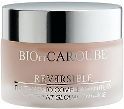 Fragrances, Perfumes, Cosmetics Anti-Aging Smoothing Face Cream - Bio et Caroube Reversible Complete Anti-Ageing Treatment