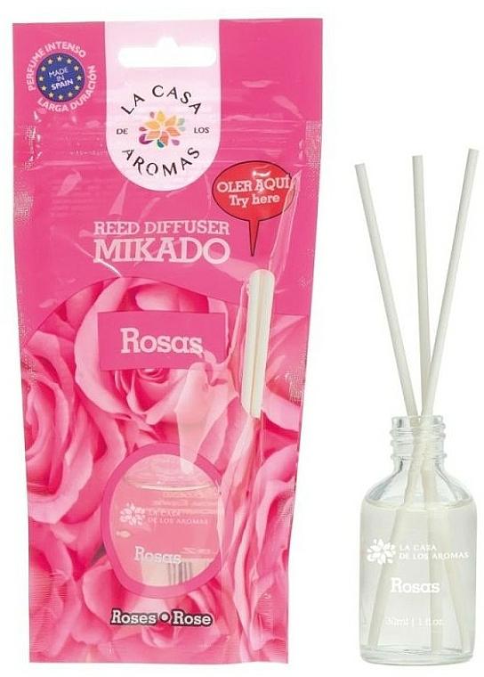 """Reed Diffuser """"Rose"""" - La Casa de Los Aromas Mikado Reed Diffuser"""