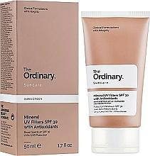 Fragrances, Perfumes, Cosmetics Mineral UV Filters Sun Cream - The Ordinary Suncare Mineral UV Filters SPF30 Antioxidants