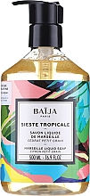 Fragrances, Perfumes, Cosmetics Marseille Liquid Soap - Baija Sieste Tropicale Marseille Liquid Soap