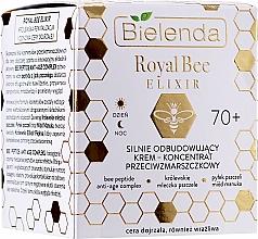 Repair Anti-Wrinkle Concentrate Cream - Bielenda Royal Bee Elixir 70+ Cream Concentrate — photo N2