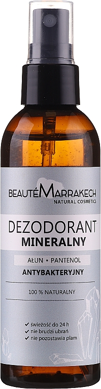 "Body Deodorant ""Panthenol"" - Beaute Marrakech Alum & Panthenol"