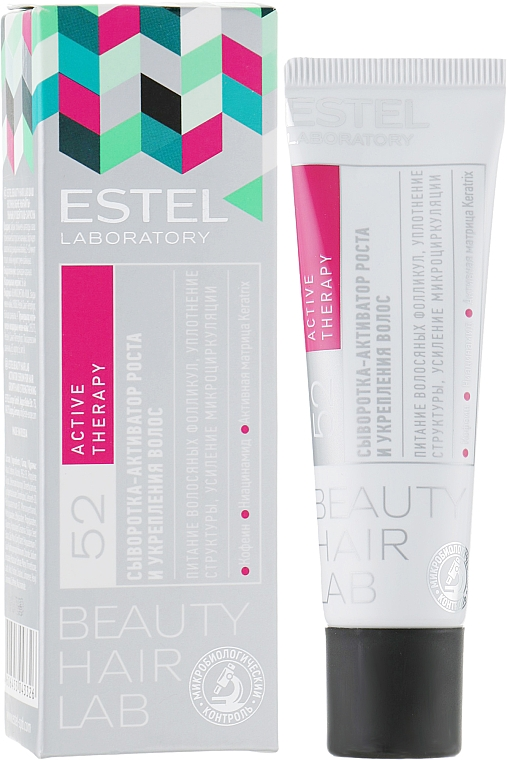 Hair Growth and Firming Serum-Activator - Estel Beauty Hair Lab 52 Active Therapy