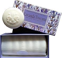 """Fragrances, Perfumes, Cosmetics Toilet Soap Set """"Tuscan Lavender"""" - Saponificio Artigianale Fiorentino Lavender Toscana (Soap/6x50g)"""