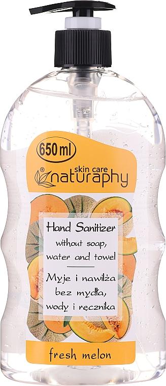 Alcohol Hand Gel Sanitizer with Melon Scent - Bluxcosmetics Naturaphy Alcohol Hand Sanitizer With Fresh Melon Fragrance