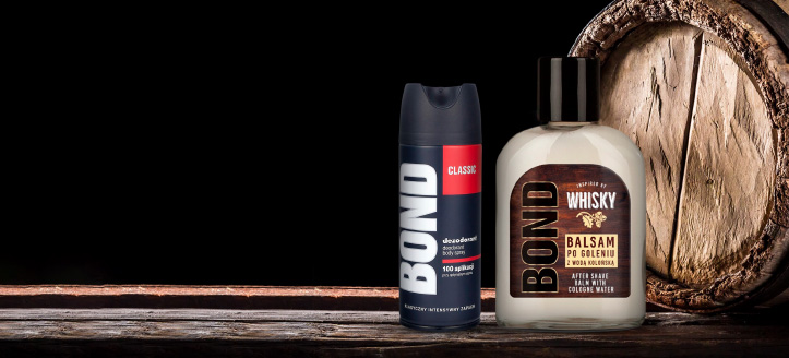 Buy Bond or Bond Expert products for the amount of £6 or more and get a free deodorant