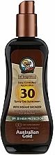 Fragrances, Perfumes, Cosmetics Sunscreen Gel Spray - Australian Gold Protetor Solar Gel Spray Bronzeador SPF30