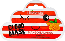 "Fragrances, Perfumes, Cosmetics Facial Cloud Mask ""Mango"" - Bielenda Cloud Mask Mango Balango"