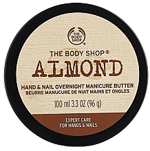 Fragrances, Perfumes, Cosmetics Almond Hand & Nail Butter - The Body Shop Almond Hand & Nail Overnight Manicure Butter