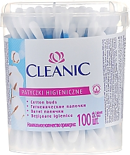 "Fragrances, Perfumes, Cosmetics Cotton Buds ""Classic"", 100 pcs - Cleanic Face Care Cotton Buds"