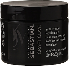 Fragrances, Perfumes, Cosmetics Modeling Clay with Matte Effect - Sebastian Professional Form Craft Clay Remoldable-Matte