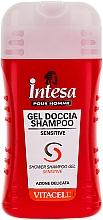 Fragrances, Perfumes, Cosmetics Revitalizing Shower Shampoo Gel for Sensitive Skin - Intesa Vitacell Sensitive Shower Shampoo Gel