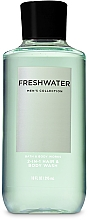 Fragrances, Perfumes, Cosmetics 2-in-1 Hair & Body Shower Gel - Bath and Body Works Men`s Collection Freshwater 2 In 1 Hair & Body Wash