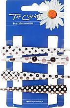 Fragrances, Perfumes, Cosmetics Hair Claws, 25099, black-white - Top Choice