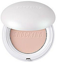 Fragrances, Perfumes, Cosmetics Compact Face Powder - Tony Moly The Shocking Pact Fix Cover SPF50+ PA++++