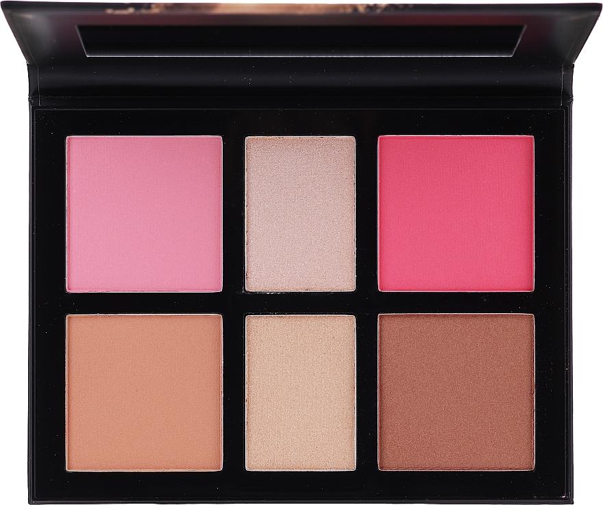 Makeup Palette - Avon Blush & Glow Face Palette (22 g) — photo N3