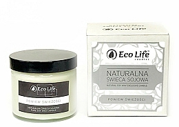 """Fragrances, Perfumes, Cosmetics Scented Candle """"A Breath of Freshness"""" - Eco Life Candles"""