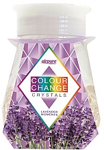 Fragrances, Perfumes, Cosmetics Crystals Lavender Gel Air Freshener - Airpure Colour Change Crystals Lavender Moments