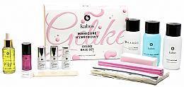 Fragrances, Perfumes, Cosmetics 13-Piece Manicure Set - Kabos Base Set Gelike Red
