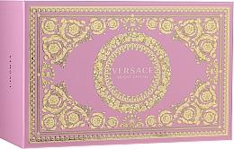 Fragrances, Perfumes, Cosmetics Versace Bright Crystal - Set (edt/90ml + edt/10ml + pounch)
