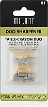 Fragrances, Perfumes, Cosmetics Duo Sharpener - Milani Duo Sharpener