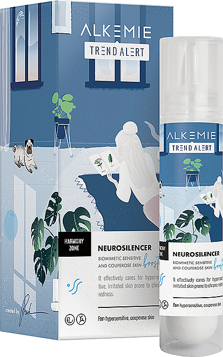 Sensitive Skin Emulsion - Alkemie Harmony Zone Neurosilencer Biomimetic Skin Booster