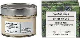 Fragrances, Perfumes, Cosmetics Brightening Face Mask - Comfort Zone Sacred Nature Exfoliant Mask