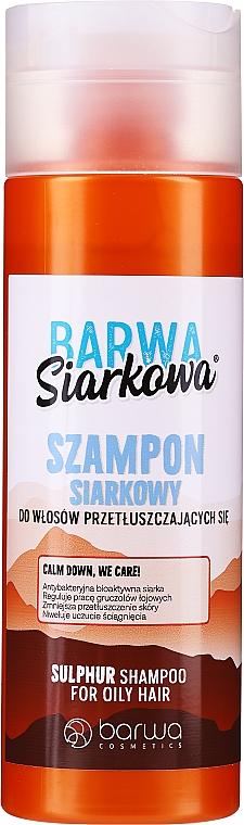 Antibacterial Sulphur Shampoo - Barwa Special Sulphur Antibacterial Shampoo