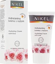 Fragrances, Perfumes, Cosmetics Moisturizing Rose Cream - Nikel Hydrating Cream with Rose