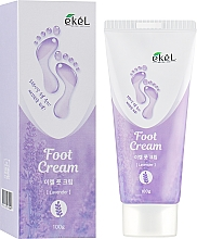 Fragrances, Perfumes, Cosmetics Soothing Foot Cream 'Lavender' - Ekel Foot Cream