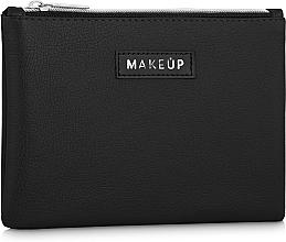 """Fragrances, Perfumes, Cosmetics Makeup Bag """"Black Trend"""", black - Makeup"""