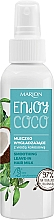 Fragrances, Perfumes, Cosmetics Hair Milk with Coconut Oil - Marion Enjoy Coco Smoothing Leave In Hair Milk